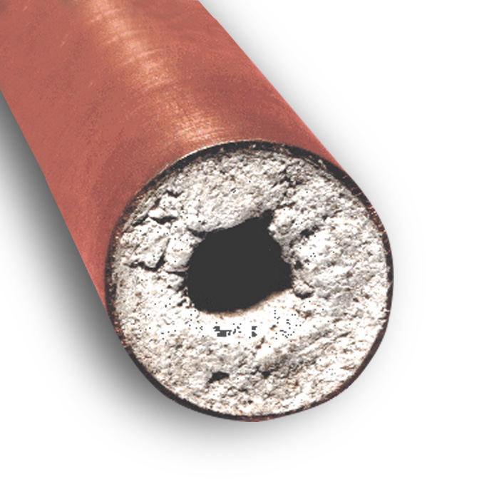how to get rid of hard water deposits in pipes